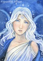 Moon Goddess ACEO by MeredithDillman
