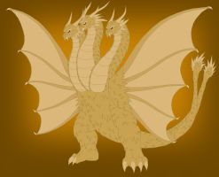 MLP The Bridge King Ghidorah by Pyrus-Leonidas
