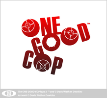 ONE GOOD COP Standalone Logo by DoNotDelete