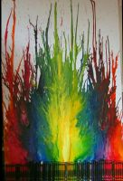 Melted Crayon by Sarbear-K