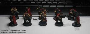 Scouts Space Marines by TheWayOfTempest