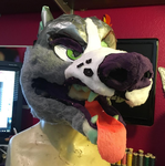 Pitbull Fursuit WIP by CowSprite