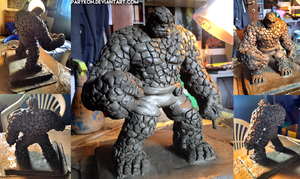 The Thing - Sculpture by ParyKon