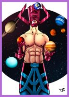 Galactus_Funny Planets. by Troianocomics