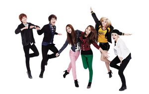 SHINee e F(x)  png [render] by Sellscarol