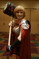 Indiana Comic Con Armored Harley Quinn 2 by SirKirkules