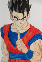 Son Gohan. Be good. by elfaba1993