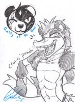 COM: Panda doodlies! 1/2 by carnival
