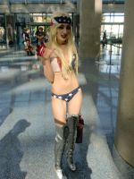 Lady Gaga Telephone Anime Expo by awkwardoctopus