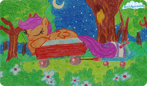 Sweet dreams, Scoot. by SonicRainboomZ