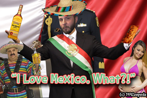 Bruce Loves Mexican, the country by 1992zepeda