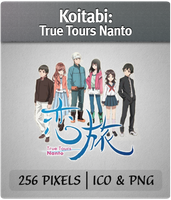 Koitabi: True Tours Nanto Anime Icon by joesandal