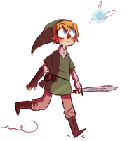 doodl#5 lonk by Torifalls