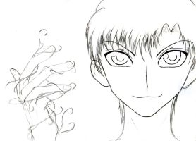 Artemis Fowl - Sketch by SakuraTenshi94