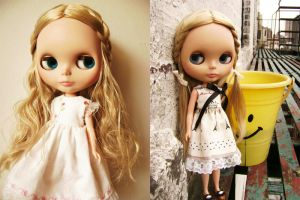 Blythe Doll Pic by ChibiRed