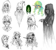 HP Sketches by Redundantthoughts