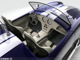 Shelby Cobra Interior by AfroAfroguy