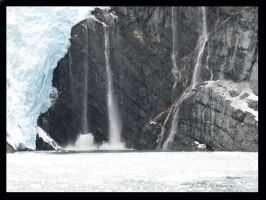 Falling Glacier by BlueArctic4