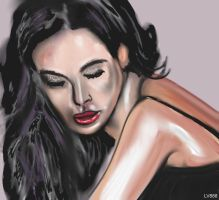 Woman face study n75 by lv888