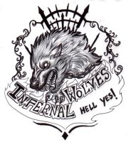 Infernal Wolves logo by FuriarossaAndMimma
