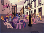 A Busy Street - 10K Pageviews special - [PIRL] by colorfulBrony