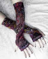 Sunset Road Arm Warmers by ZenAndCoffee