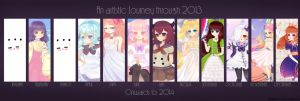 Art Summary  -2013 by Vicle-chan
