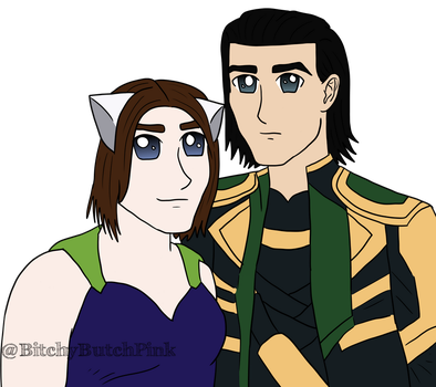 Contest Prize // Loki And Arctic Fox by SS-Trashboat