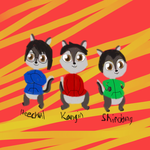 Chipmunks - Kangin, Heechul and Shindong by Bokeol