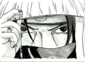 Uchiha Itachi by royalsmiley