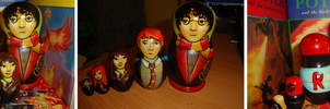 Harry Potter Nesting Dolls by bachel60