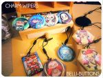 Belli-buttons Charm Wipers by jinyjin