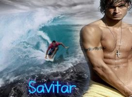 Savitar the Surfer by FallenThunderWolf