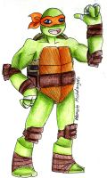 Michelangelo by CandySkitty