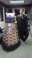 Doctor and Dalek by The-16th-Doctor