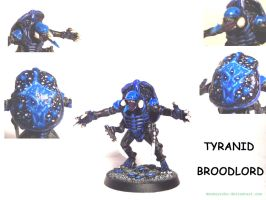 Tyranid Broodlord by MonkeyToho