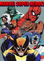 Marvel Super Heroes by mattcha