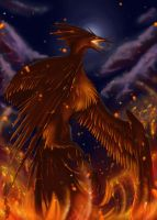 Moltres by greyanimebeast