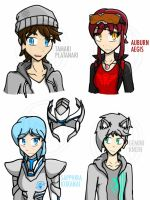RWBY OCs: Redesigned OC Busts #1 by Mystic2760