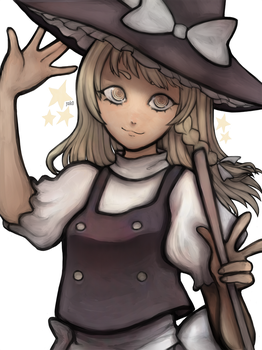 marisa stole my precious time by Yivone