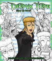 Demyx time poster by WaterJewelEmi