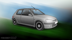 Peugeot 106 by Terror-Inferno