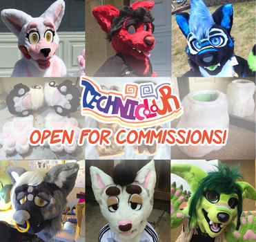 (OPEN) Technicolour Fursuit Commissions by TECHNlCOLOUR