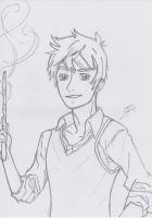 Jack Frost: Hogwarts by typicalremy