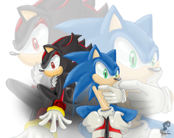 :.SoniC ShadoW.: by Xkodal-S