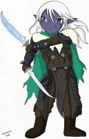 THE LEGEND OF LITTLE DRIZZT by Chaosvin