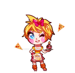 [FNAF2] Human Toy Chica - Chibi by PrincessCelestia908