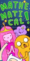 Adventure Time Bookmark by Loli-King