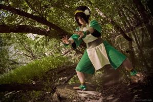 Toph from Avatar - Acen 2010 by ArielleMarie