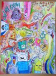 Adventure Time Drawing by eyeSpoke2day